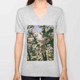 spring is inspiration Unisex V-Neck