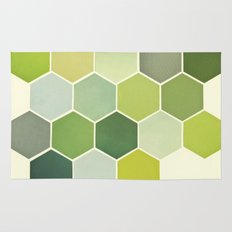Shades of Green Rug