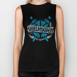 shieldmaiden #3 Biker Tank