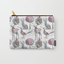 Spring Woodland Carry-All Pouch