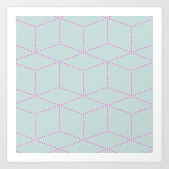 cube! Art Print
