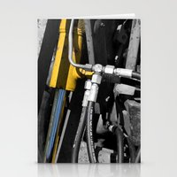 muscle Stationery Cards featuring Hydraulic Muscle by Digitalshot