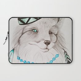 Fox with feathers Laptop Sleeve