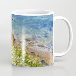 California Seaside in Bloom by Reay of Light Coffee Mug