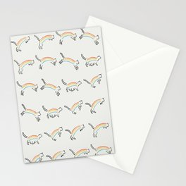 Rainbow Cat Stationery Cards