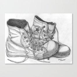 """""""Lazy Chucks"""" Canvas Print"""