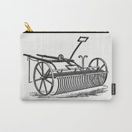 Howards patent lever horse rake from The Peoples History Of Cleveland And Its Vicinage Etc Pt 1-4 Carry-All Pouch
