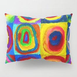 Wassily Kandinsky Color Study Pillow Sham