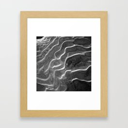 Rigid Waves Framed Art Print