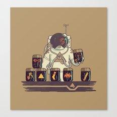 Kleptonaut Canvas Print