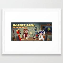 Rocket Talk, Tor.com podcast Framed Art Print