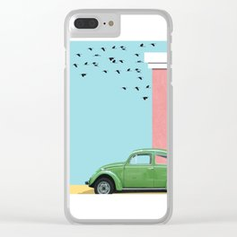The end of the street Clear iPhone Case