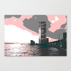 hamburg harbour Canvas Print