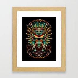 Sowl Keeper Framed Art Print
