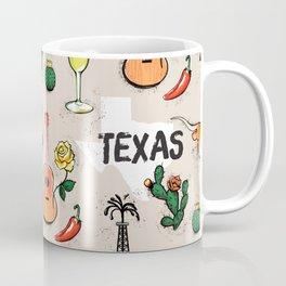 Classic Texas Icons Coffee Mug