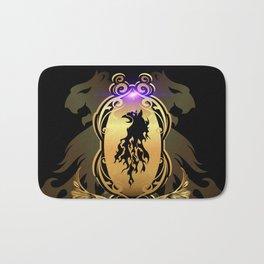 Awesome  black lion Bath Mat