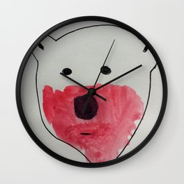 Polar Bears Don't Use Forks Wall Clock