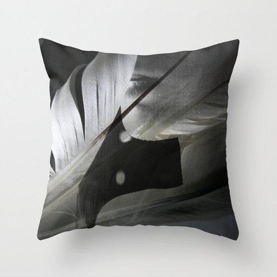 Secret Whisper Throw Pillow