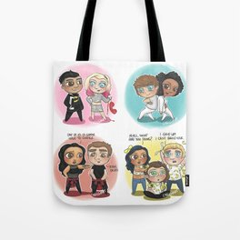 Adventures of 1D & LM Tote Bag