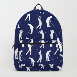 Golfers // Midnight Blue Backpack