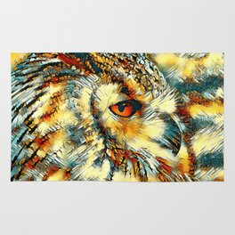 AnimalArt_Owl_20170917_by_JAMColorsSpecial Rug