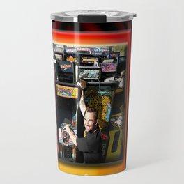 The King of Arcades Card Travel Mug
