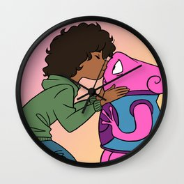 tip & oh Wall Clock