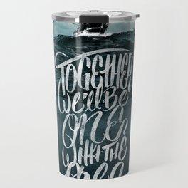 One With The Sea Travel Mug