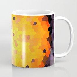 Abstract round mosaic background Coffee Mug