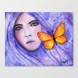 Purple Autumn Canvas Print