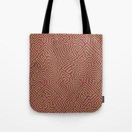 Neon Lab Bubblegum Pattern Tote Bag