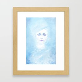Hail to the winter Framed Art Print