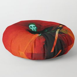 The Emperor's Gardener Floor Pillow