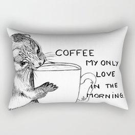 Hug the mug Rectangular Pillow