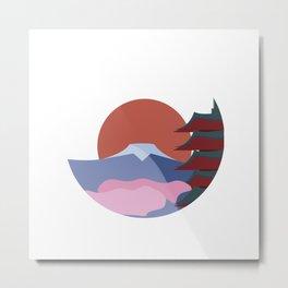 Japan's Mountain Fuji Metal Print
