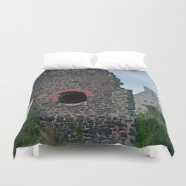 Quincy Hill Mine Shaft and Ruins Duvet Cover