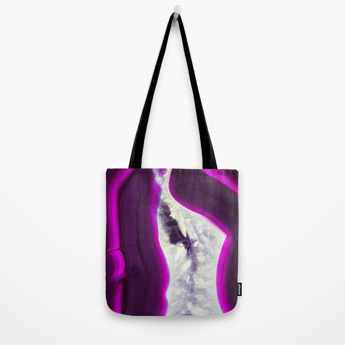 Luminescent Agate Tote Bag
