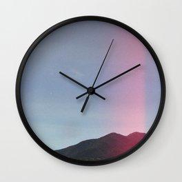 Pyrenees Mountains Wall Clock