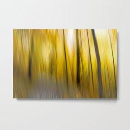 Abstract Woods Metal Print