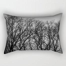 les arbres Rectangular Pillow