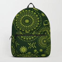 Floral mandala Backpack