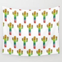 Desert Rainbow II PRIDE PATTERN Wall Tapestry