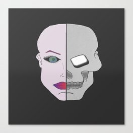 Jekyll and Hyde. Canvas Print