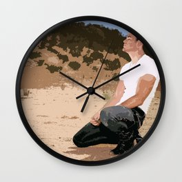 Chris Pine Wall Clock