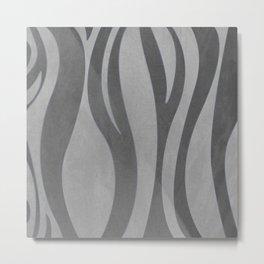 Gray texture Metal Print