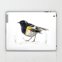 Hihi, New Zealand native Stitchbird Laptop & iPad Skin