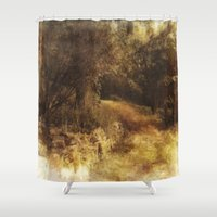 destiny Shower Curtains featuring Destiny by Dorothy Pinder
