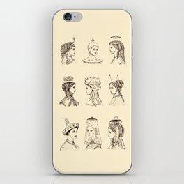Victorian U.F.O. Ladies iPhone Skin