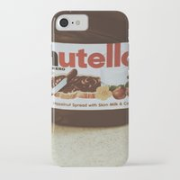 nutella iPhone & iPod Cases featuring Nutella by Danielle Clark