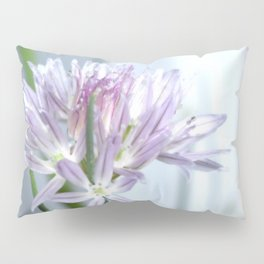 Flower | Flowers | Purple Chive | Kitchen Garden | Nadia Bonello Pillow Sham